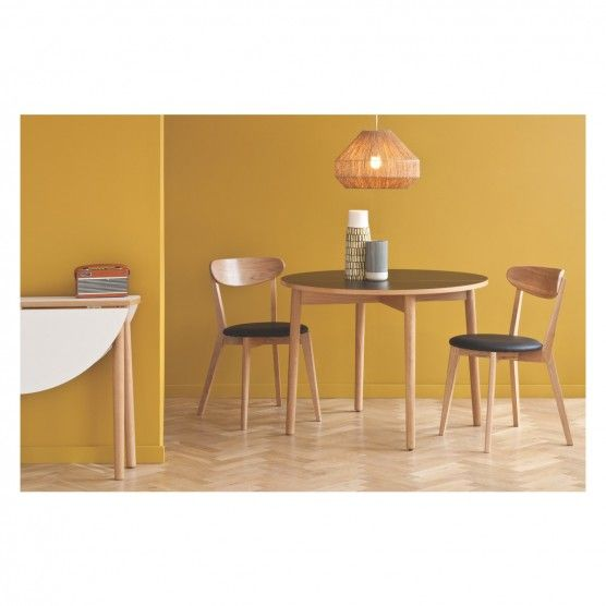 seater white folding round dining table