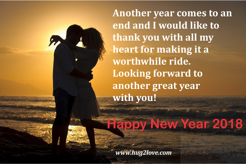 romantic new year 2018 messages for husband