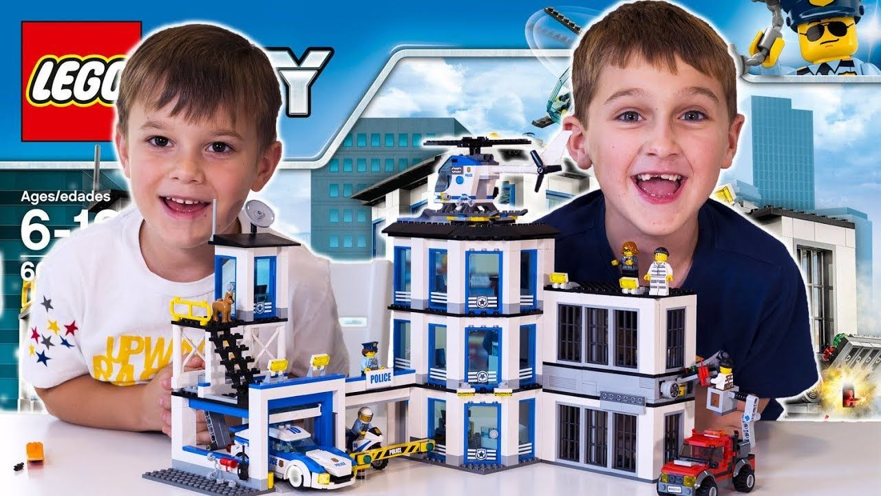 LEGO CITY Police Station (60141) Unboxing, Timelapse Build, Review