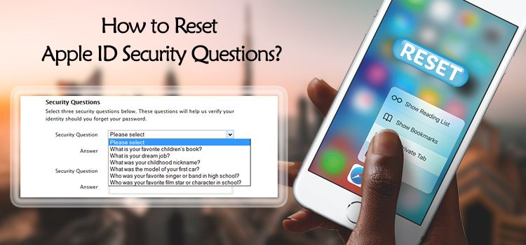 How To Reset Apple Id Security Questions Apple Mac Support