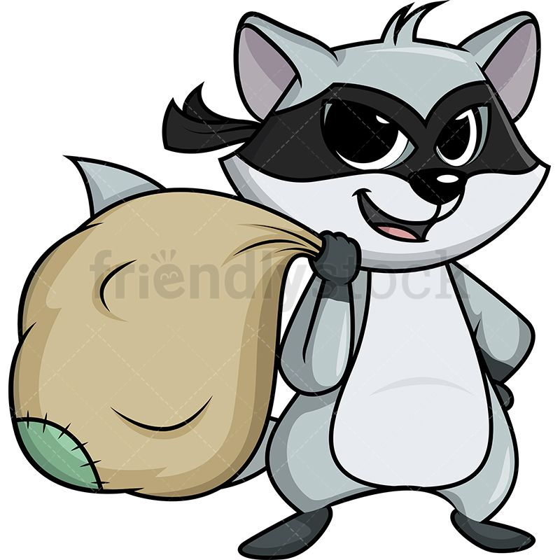 20+ Animated Clipart Of A Raccoon