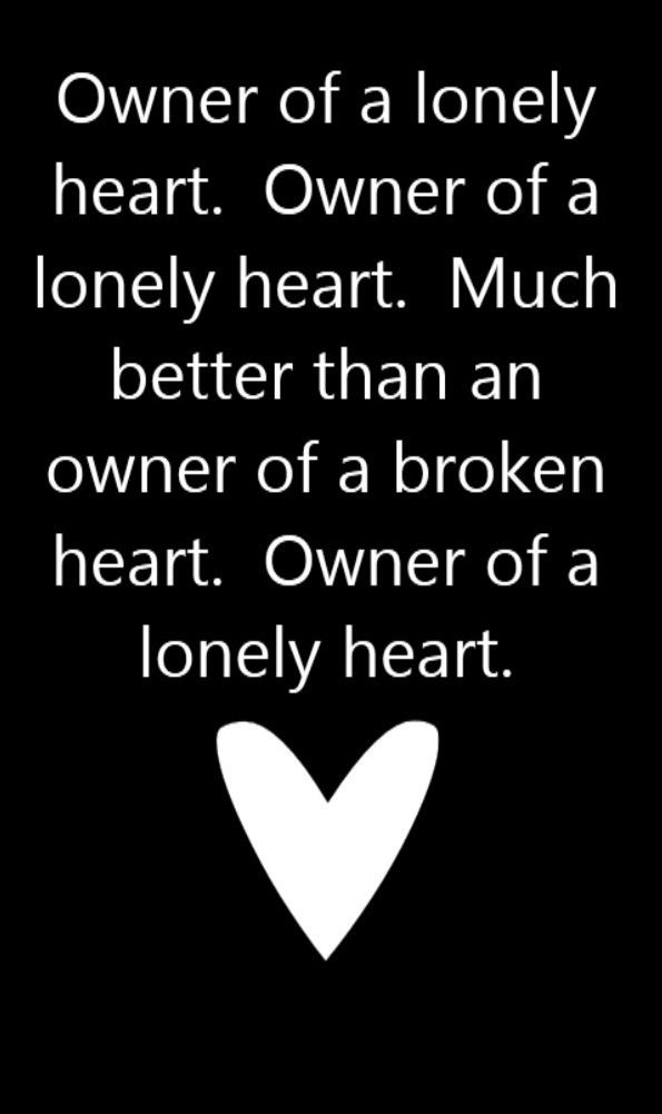 Yes Owner of a Lonely Heart song lyrics, song quotes