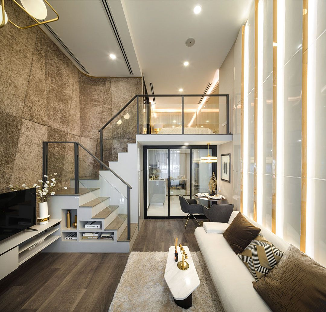 Luxury Modern Studio Loft Apartment With Double Height Ceiling