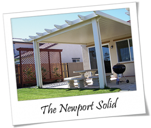 The Newport Solid By Alumawood New Patio Ideas Patio Shade Outdoor Diy Projects