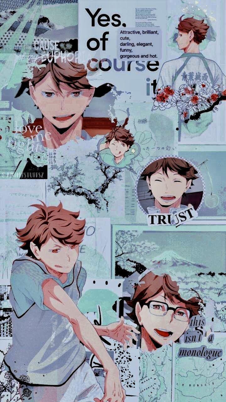 Pin By Uh Hi On Aesthetic Anime In 2020 Haikyuu Wallpaper Cute