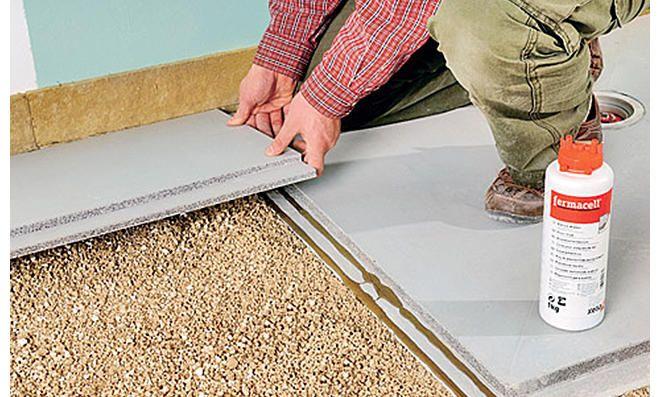 Bodengleiche Dusche Zement Paneel Bodengleiche Dusche Selber