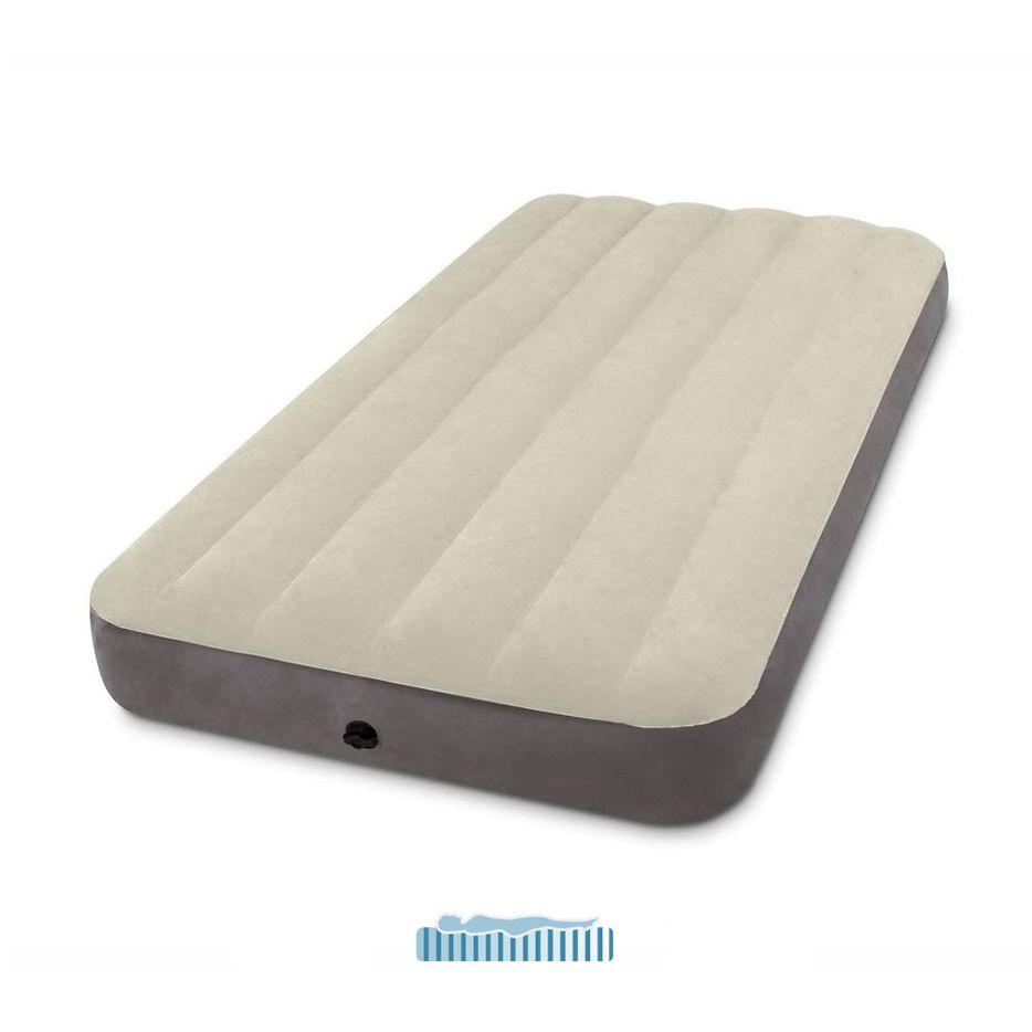 Materassi Gonfiabili Singoli.Intex 64707 Materasso Gonfiabile Singolo Deluxe 99x191x25cm