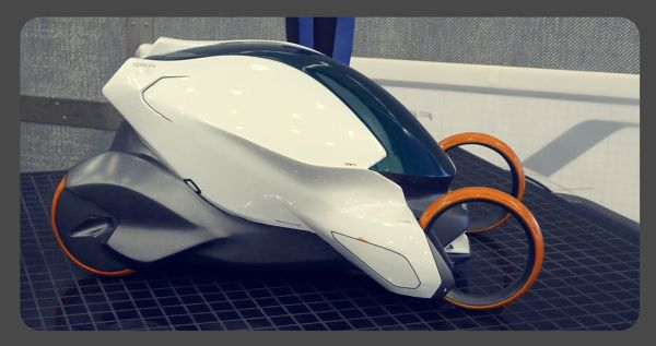 Mike T. Wang's design blog: ford urban mobility