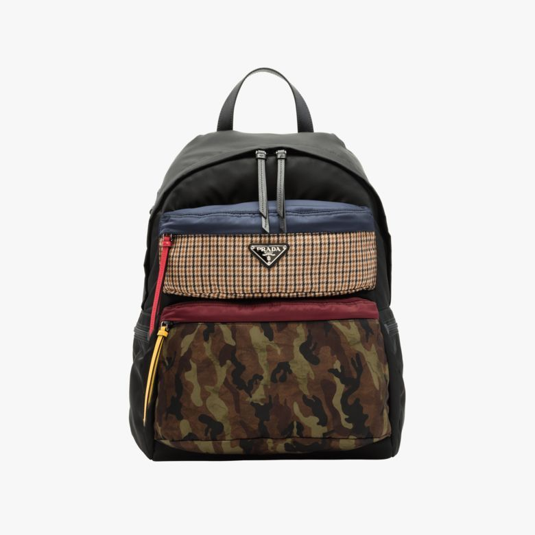 950748f05963 Printed technical fabric backpack in 2019
