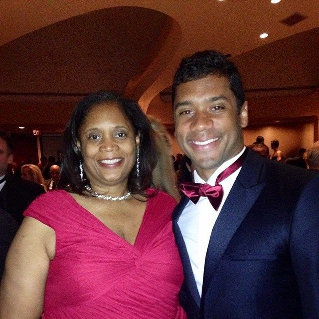 russell wilson his mother russell wilson doug baldwin 12th man