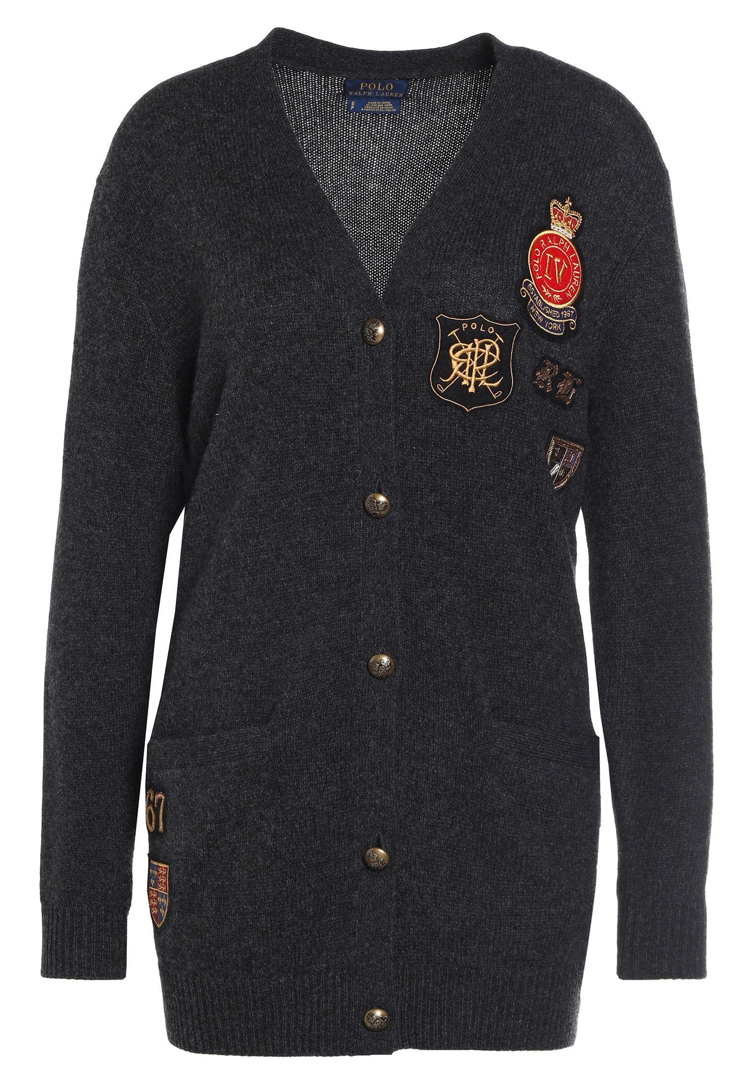 001f7395c7707 Vêtements Polo Ralph Lauren Gilet - granite heather gris foncé chiné   499,95 €