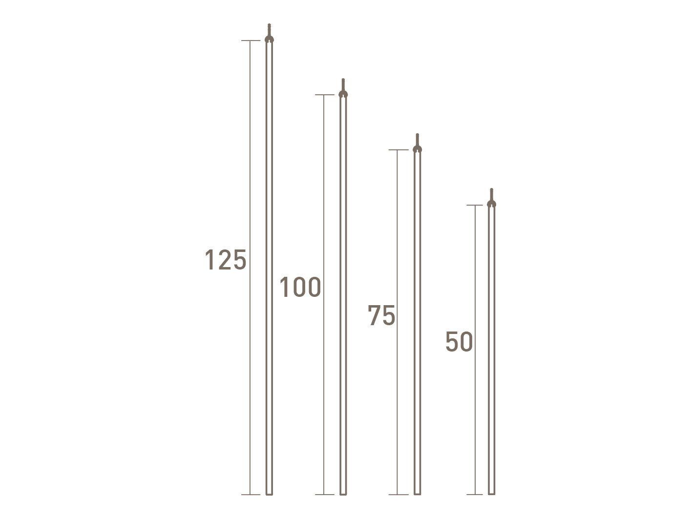 Walcot House Curtain Accessories Stainless Steel Draw Rods