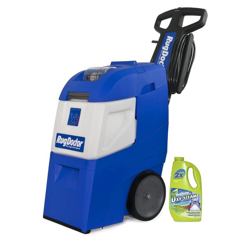 Rug Doctor Mighty Pro X3 Value Pack Blue Rug Doctor Carpet