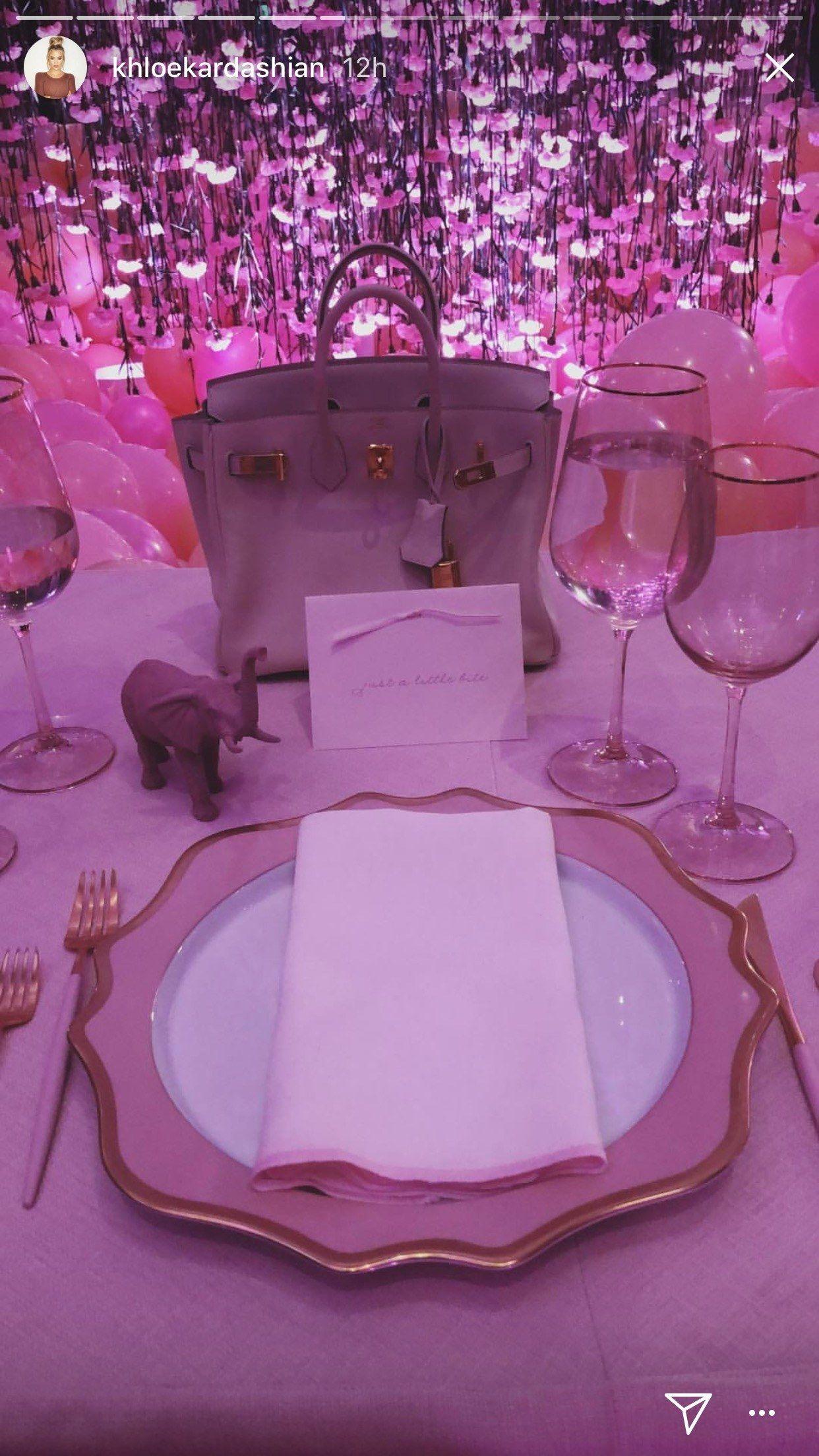 khloe kardashians baby shower might be the prettiest kardashian party ever