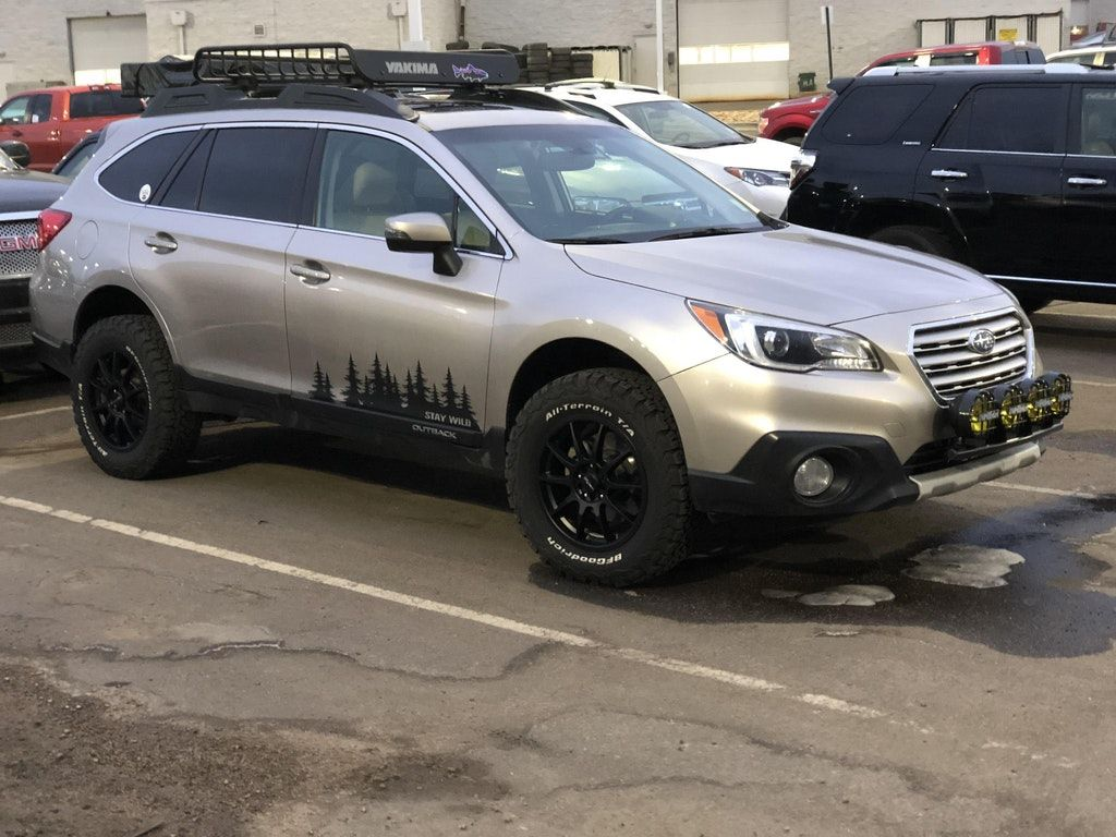 Saw This Nifty Outback Parked At My Dealership Subaru Subaru Outback Offroad 2011 Subaru Outback Subaru Outback Lifted