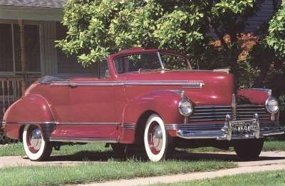 1941 Hudson Commodore Six Convertible