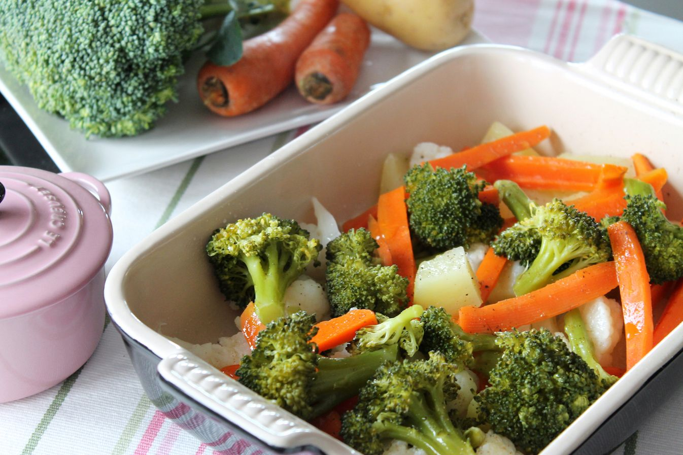 C mo hacer verduras al vapor sanas y deliciosas - Como hacer verduras salteadas ...