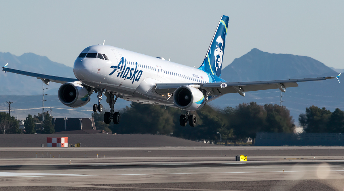 Aircraft Airbus A320 214 Airline Alaska Airlines My