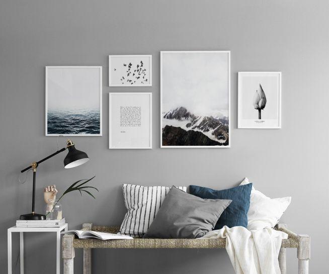 In der gruppe inspiration wohnzimmer bei desenio ab insp8252 drucke - Poster wohnzimmer ...