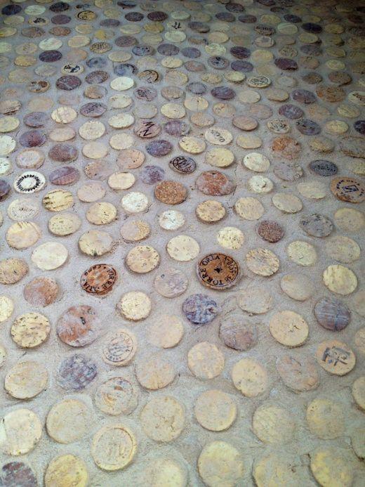 Wine Cork Floors Or How Being Drunken Ders Helped Us Remodel Our Bathroom Free Range Quest
