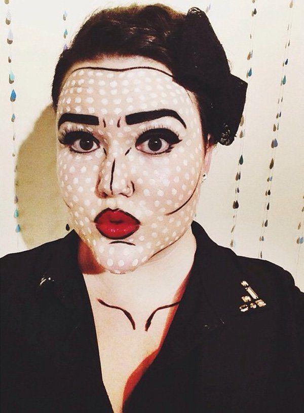 45+ Examples of DIY Halloween Makeup | Makeup, Halloween makeup ...