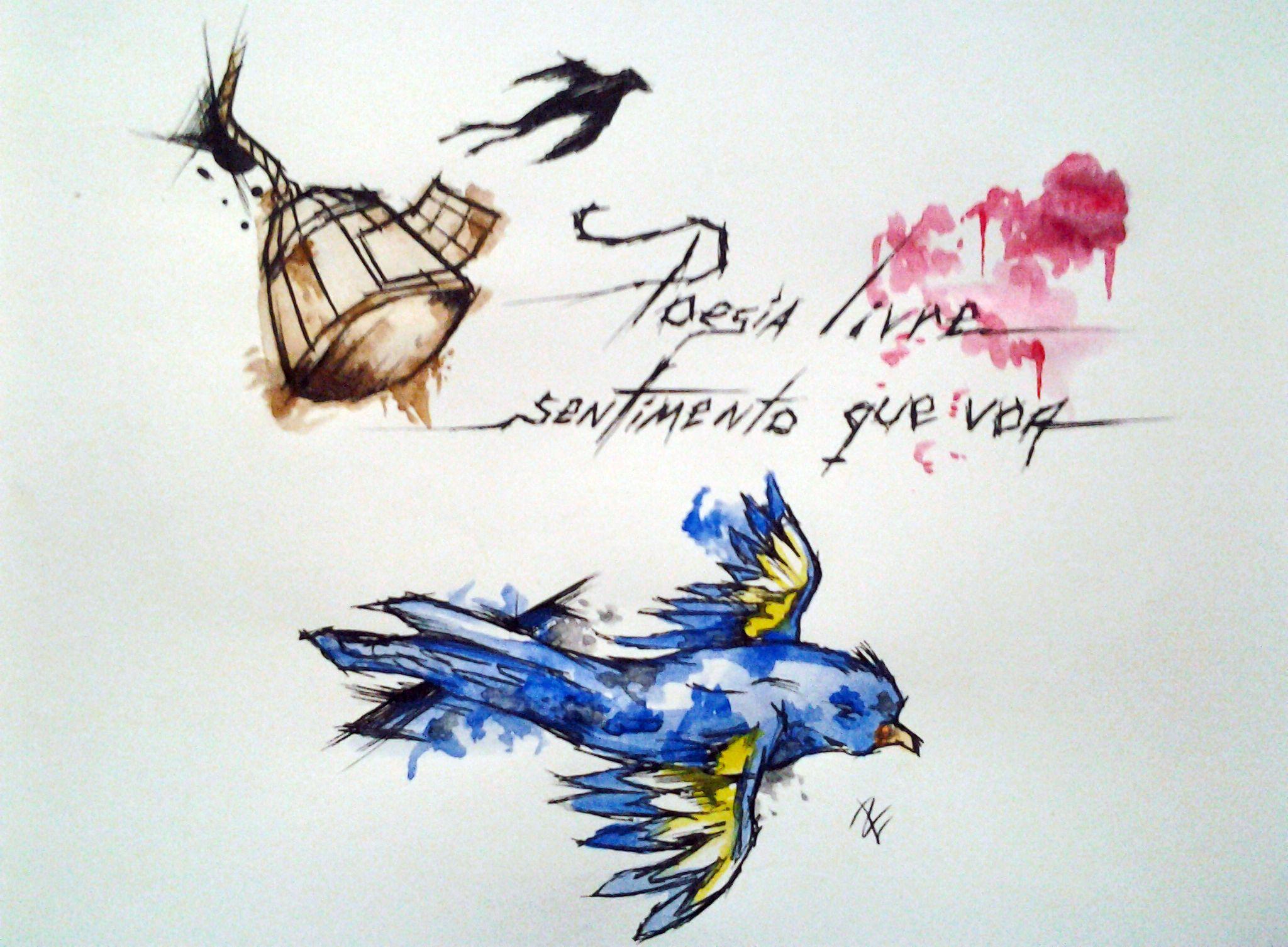 Poesia livre sentimento que voa
