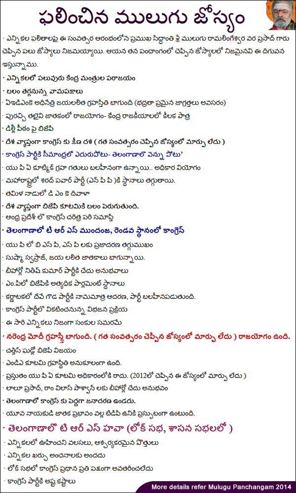 astrology predictions by date of birth in telugu