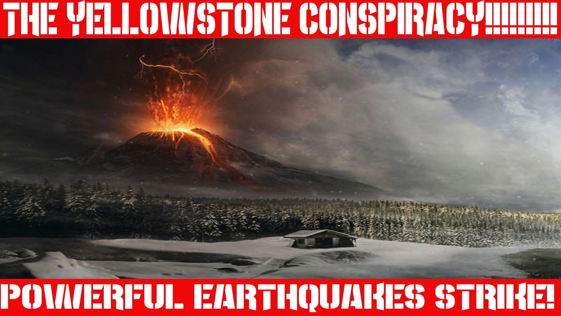 Earthquake Report April 7 2016 Yellowstone Erupting Or Oklaho Earthquake Report Strange Weather Yellowstone