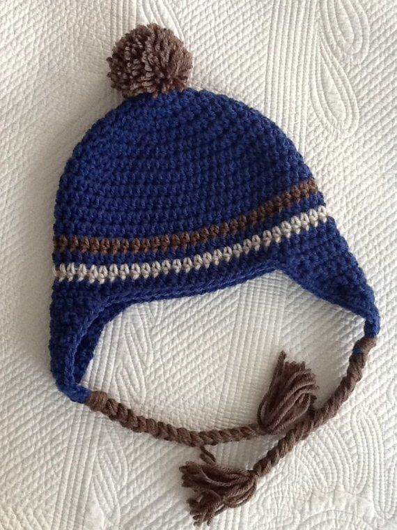 e8f3625073f Crochet Hat with Earflaps