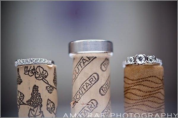 Rings on corks