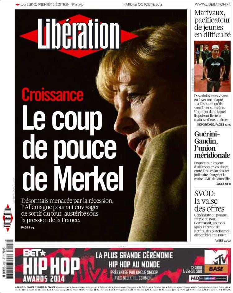 Libération - Mardi 21 Octobre 2014 - N° 10397