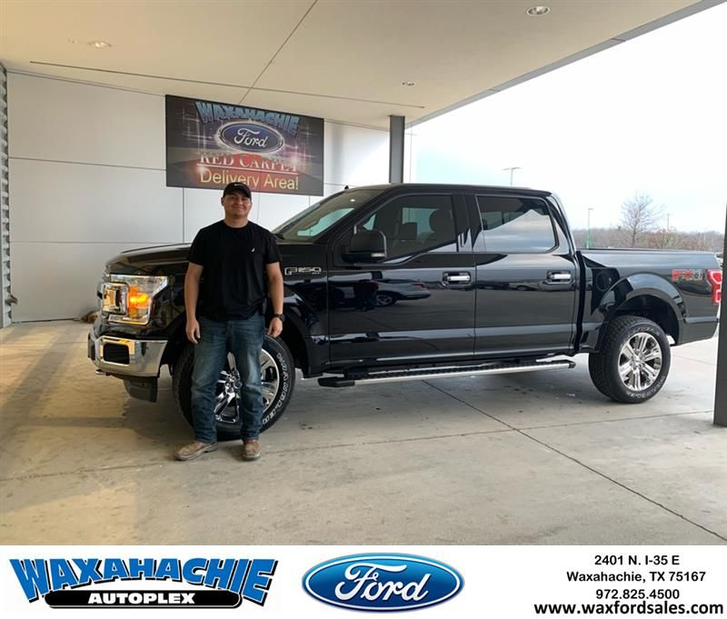 Congratulations Efrain On Your Ford F 150 From Orlando Martinez At Waxahachie Ford Waxahachieford Waxahachie Ford Honda Dealership