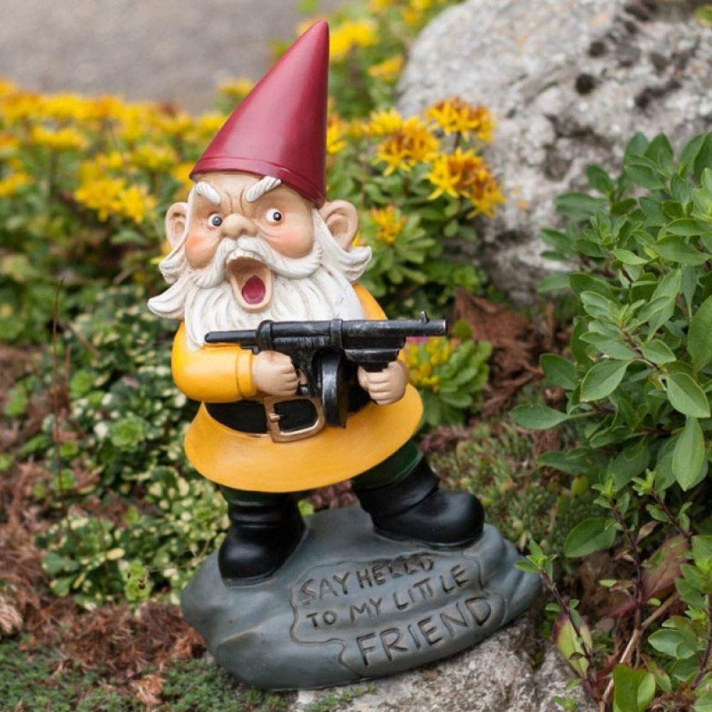 My Little Friend Garden Gnome