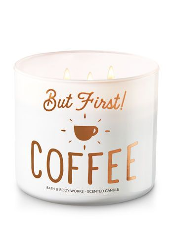 But First Coffee 3 Wick Candle Bath And Body Works Bath Candles Candles Bath Body Works Candles