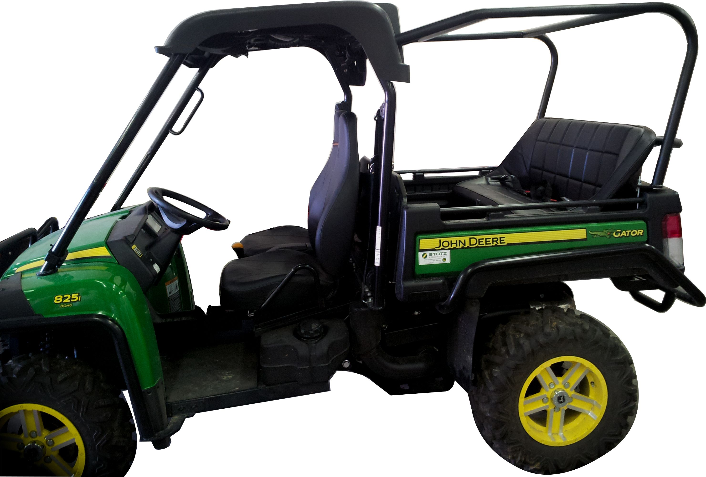 SIorfi-UTV John Deere Gator 825i Back Seat and Roll Cage Kit. This system