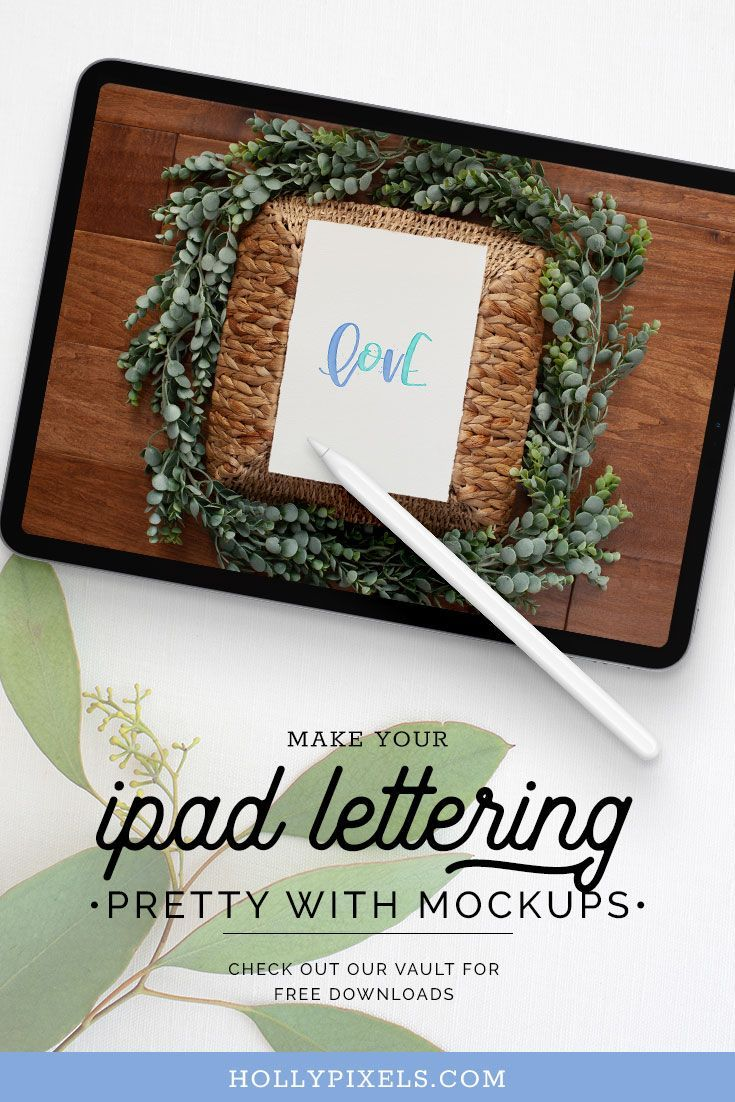How to Make Your iPad Lettering Stand Out With