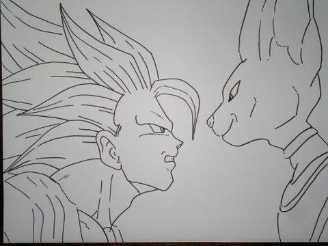 Resultado De Imagen De Dibujos De Goku A Lapiz Dragon Ball Goku