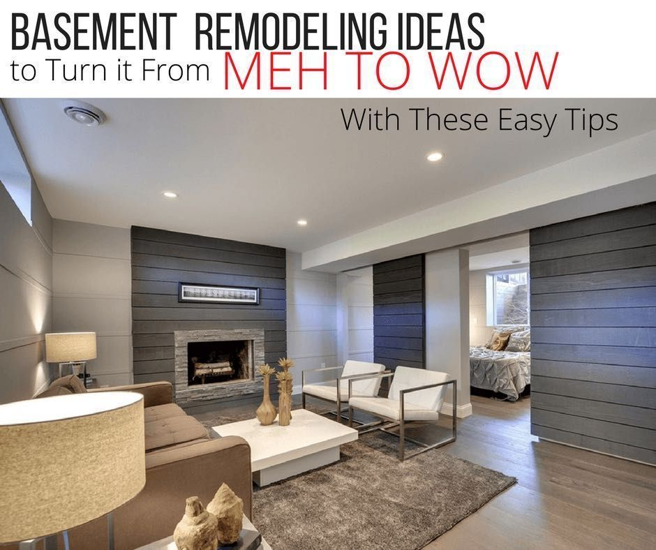 Basement Remodeling Ideas To Turn It From Meh To Wow Rental Space Extraordinary Basement Remodeling Tips