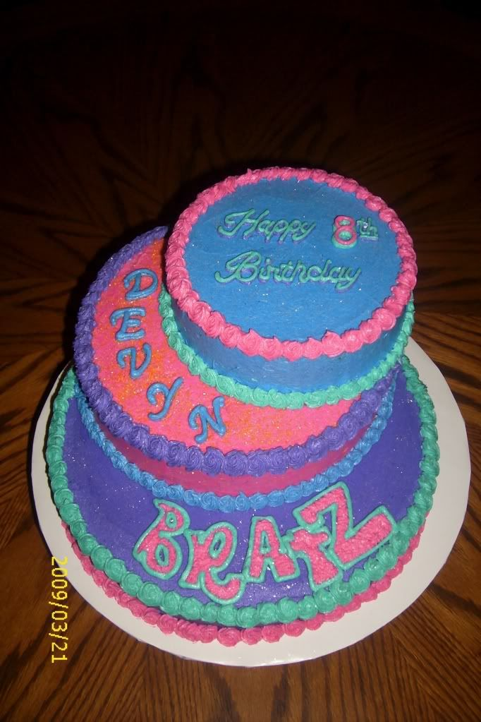 Phenomenal Bratz Cake Photo Dsci0162 8Th Birthday Cake Photo Cake Cake Personalised Birthday Cards Akebfashionlily Jamesorg