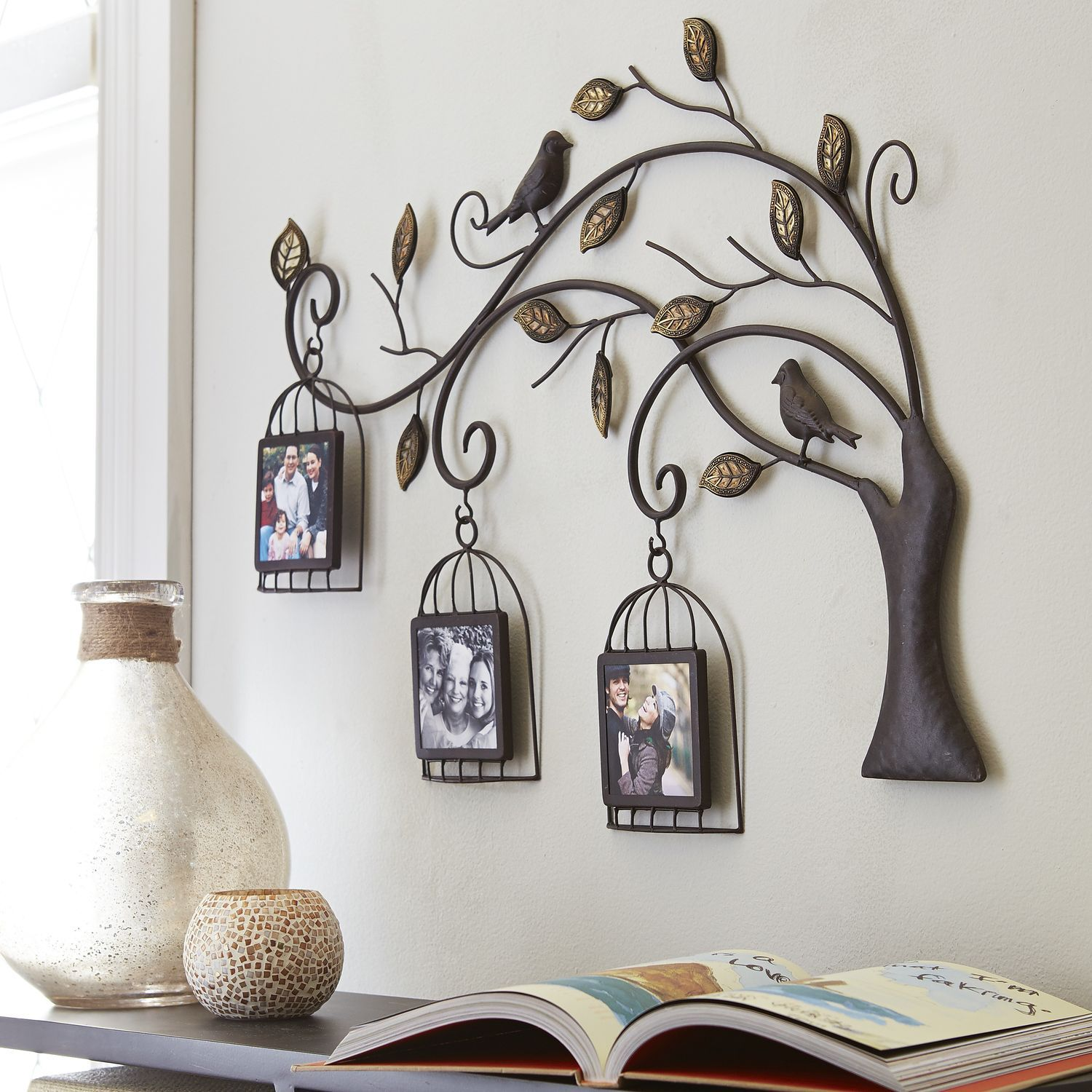 Birdcage Tree Collage Wall Frame - Pier 1 Imports