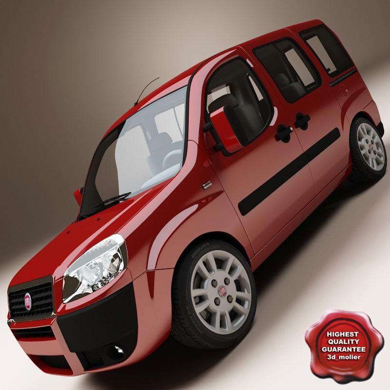 Fiat Doblo 3d Model Ad Fiat Doblo Model