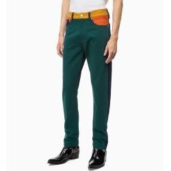 Outlet - Calvin Klein Ckj 035 Straight Jeans im Blockfarben-Design 3834 - Extra Sale Calvin Klein