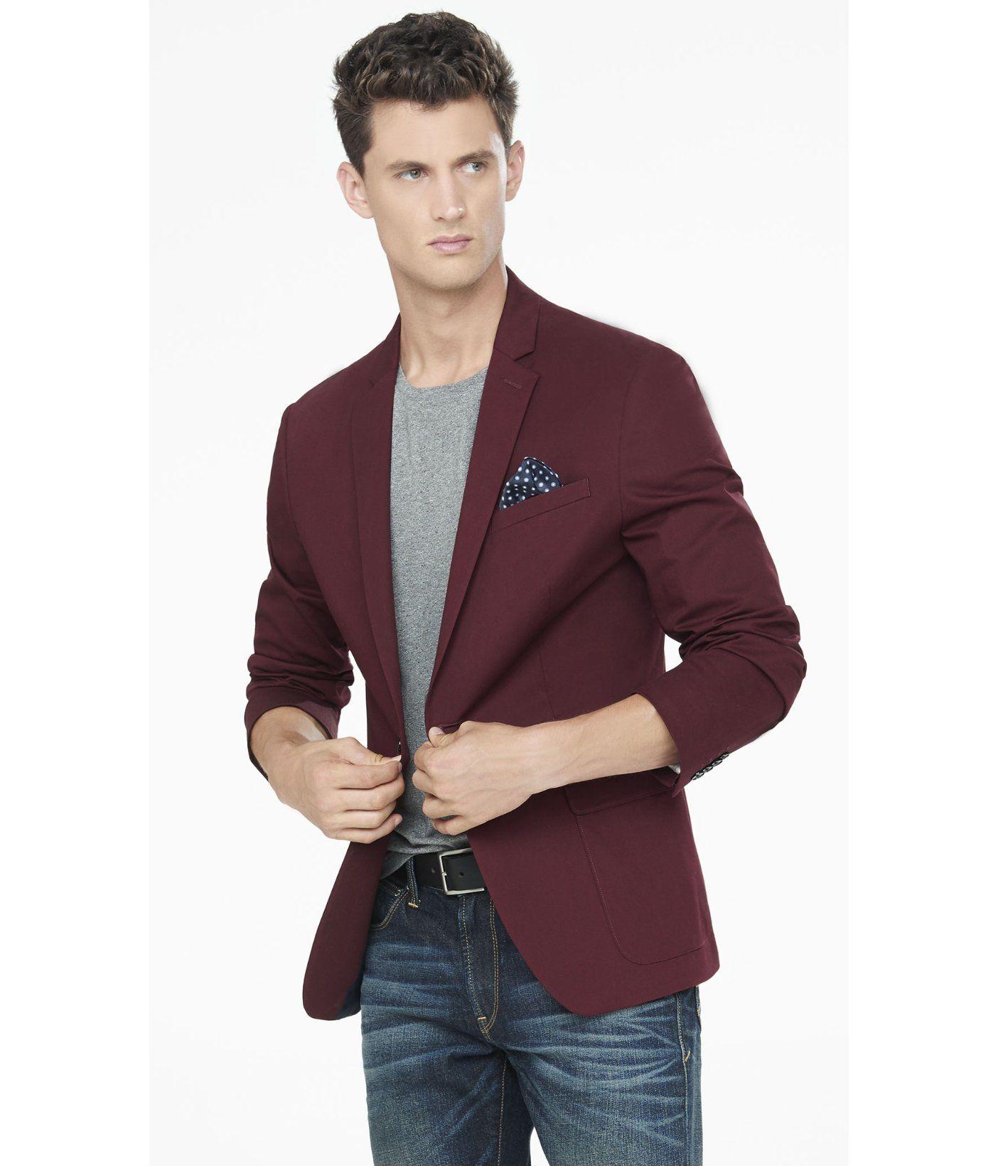 Image result for men burgundy blazer Burgundy jacket