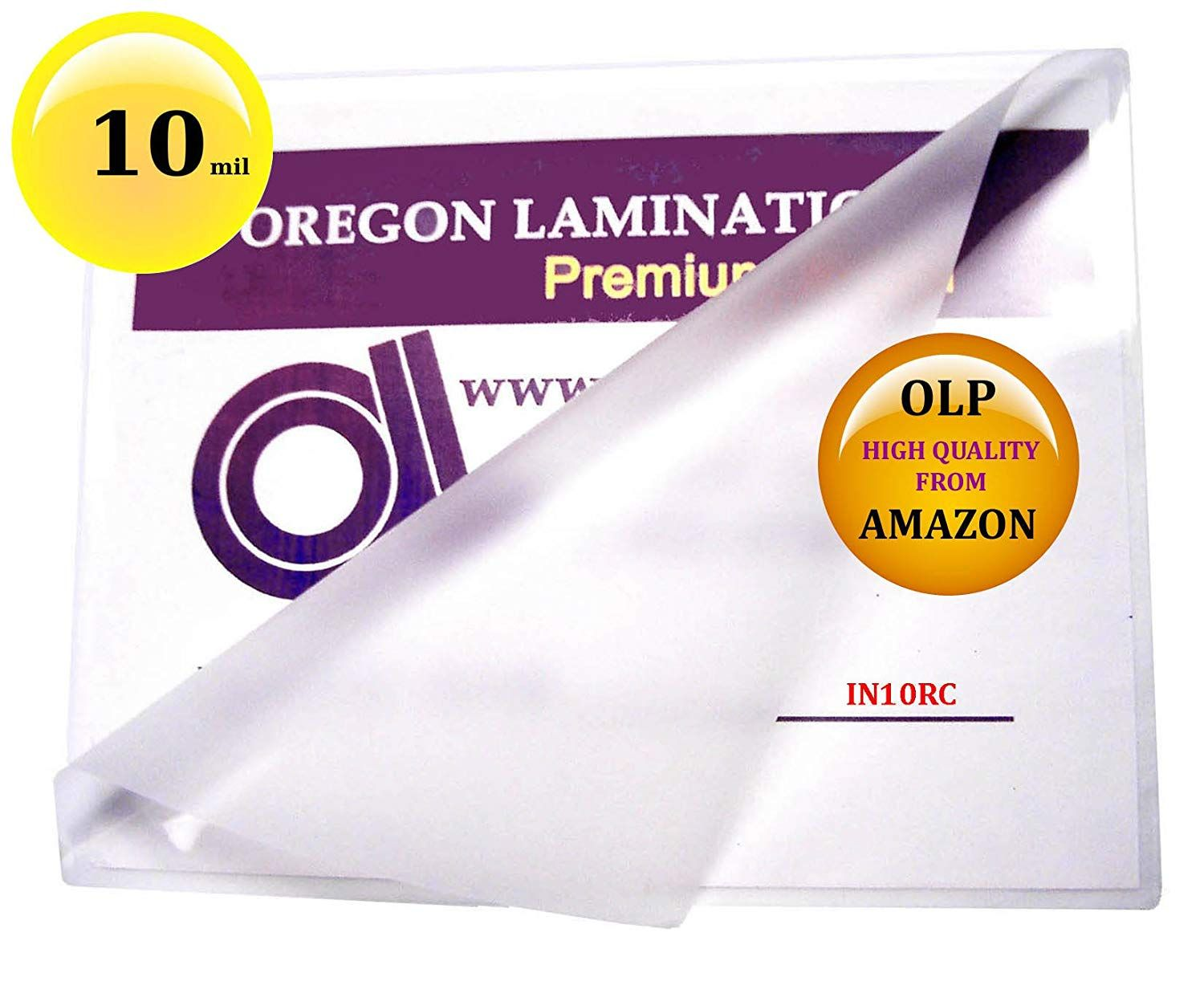 10 Mil 6 X 9 Hot Laminating Pouches Pack Of 50 Clear Click Image For More Details This Is An Affiliate Link Laminators Pouch Pouches Packing