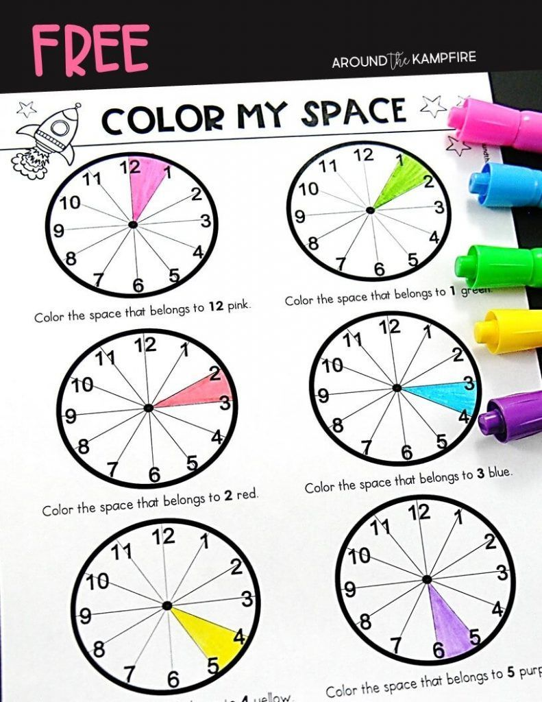 Teaching kids to tell time past the hour | Pinterest