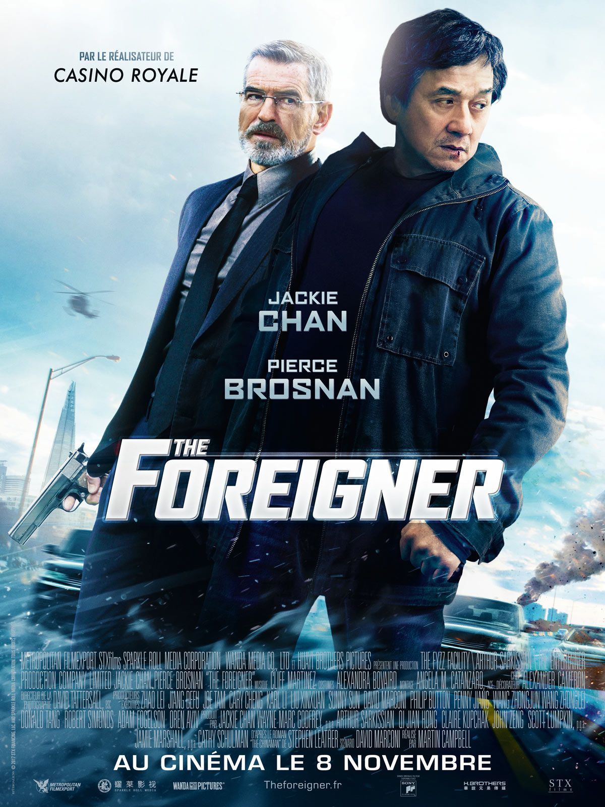The Foreigner film 2017 AlloCiné Jackie chan, Film