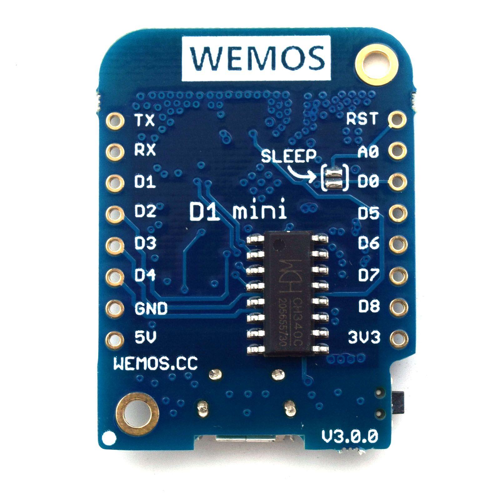 Wemos D1 Mini · arendst/Sonoff-Tasmota Wiki · GitHub | WiFi