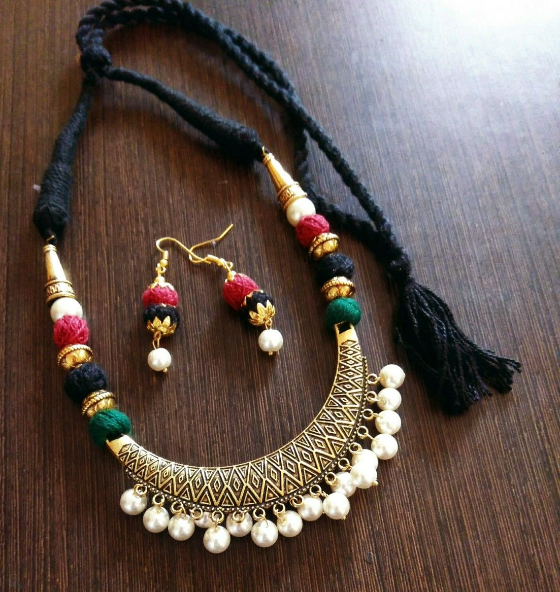 Pin By Suhaila Uckail On Beads Necklace Bead Jewellery Jewelry Patterns Fashion Jewelry
