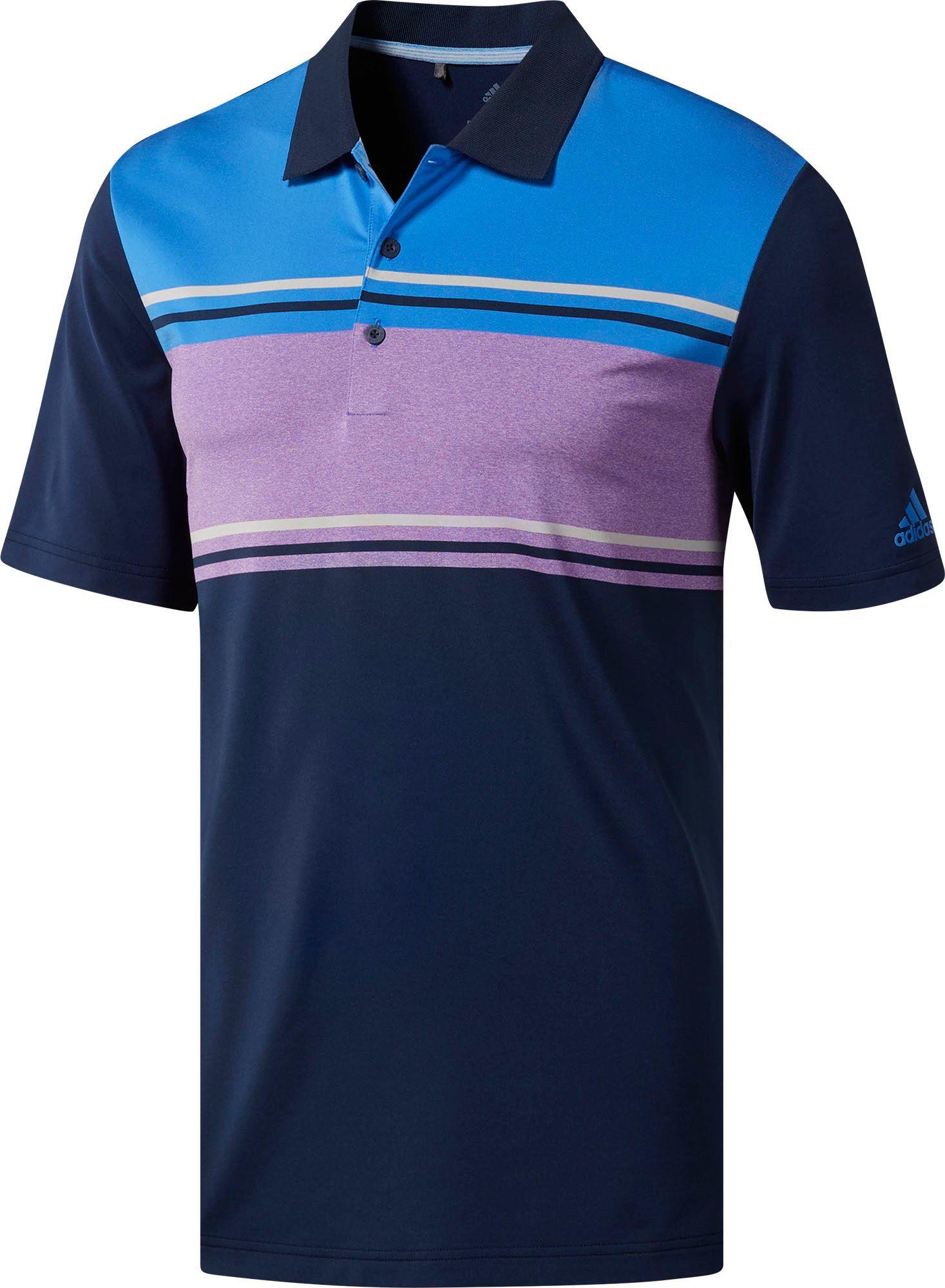 san francisco a84b4 41cb3 adidas Men s Ultimate365 Classic Merch Golf Polo, Size  Small, Blue