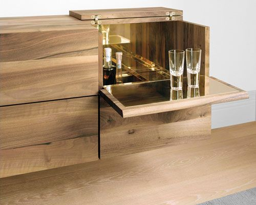 Wall Banger Style Home Bars Come In Lots Of Designs. This Liquor Cabinet  Hides On